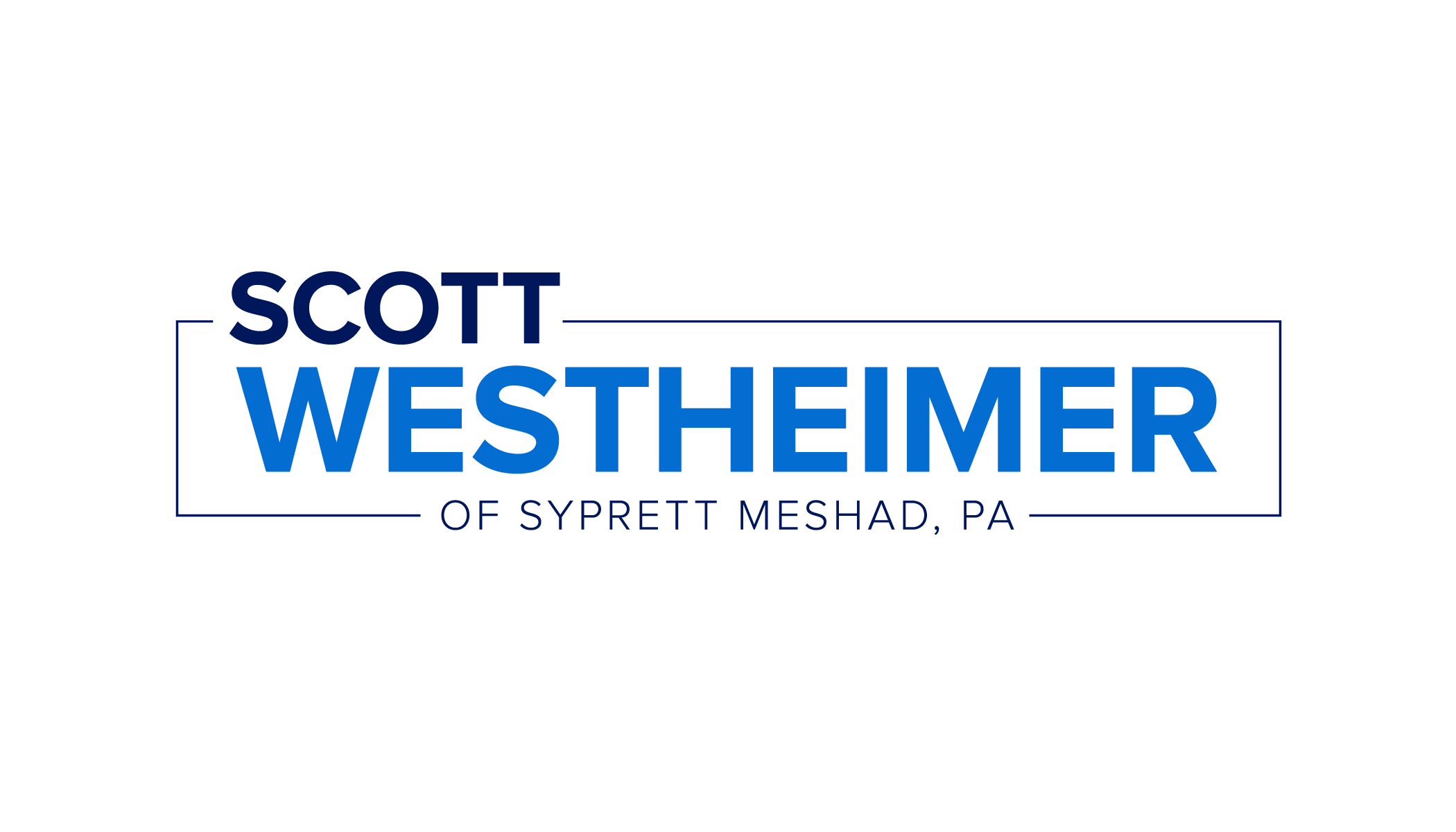 Scott Westheimer of Syprett Meshad, PA